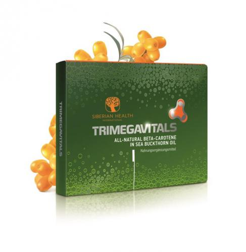 NEM Trimegavitals. All-Natural Beta-Carotene in Sea Buckthorn Oil, 30 Kapseln 500060