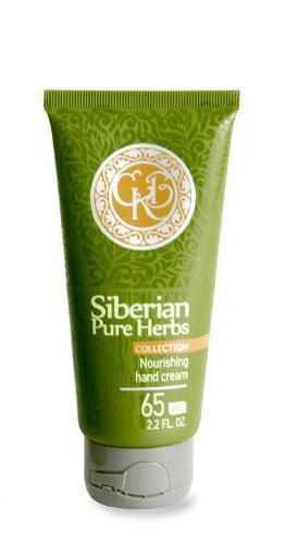 Siberian Pure Herbs Collection.Nahrhafte Handcreme (Enhergen), 65 ml 401819