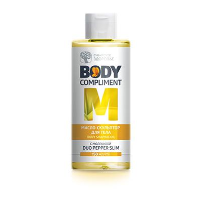 Body Compliment. Body Shaping Öl Mit Pfeffer Duo Slim Molecule, 150 ml 403035
