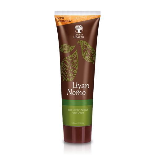 Siberian Pure Herbs Collection. Uyan Nomo. Joint Comfort Natural Relief Cream, 100 ml 402579