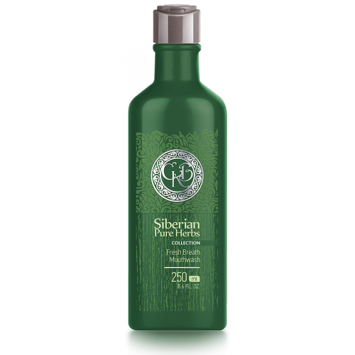 Siberian Pure Herbs Collection. Enjuague bucal refrescante, 250 ml 401915