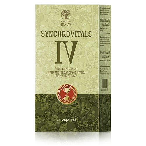 Suplement diety SynchroVitals IV, 60 capsules 500130