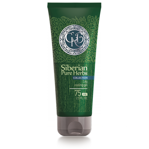 Siberian Pure Herbs Collection. Gel refrescante para piernas, 75 ml 401803