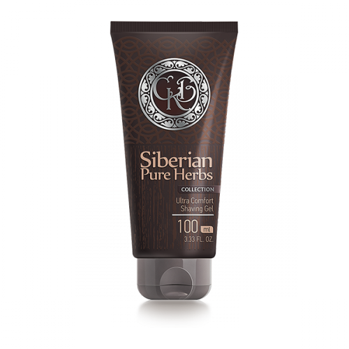 Siberian Pure Herbs Collection. Ultra Comfort  Shaving Gel, 100 ml 402087