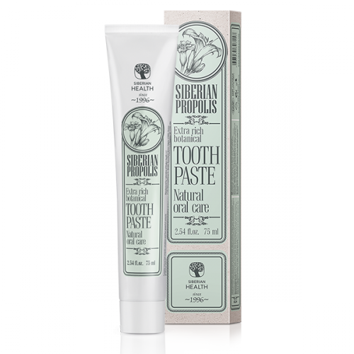 Extra Rich Botanical Toothpaste Siberian Propolis. Natural oral care, 75 ml 403380