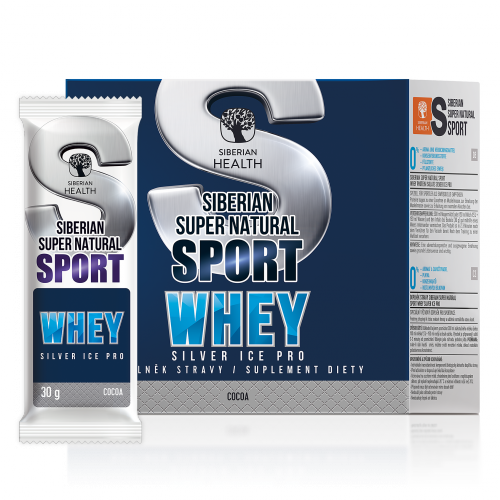 Siberian Super Natural Sport. Whey Silver Ice Pro, 450 g 500366