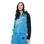 Sweatshirt for women (color: lightblue, size: M)
