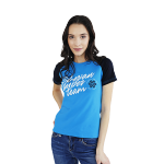 Siberian Super Team T-shirt for women (color: blue, size: XS)