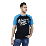 Siberian Super Team T-shirt for men (color: blue, size: M)