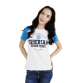 Siberian Super Team CLASSIC T-shirt for women (color: white, size: XS)