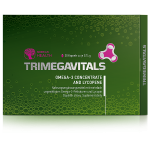Trimegavitals. Omega-3 Concentrate and Lycopene, 30 Kapseln