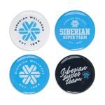Set of Siberian Wellness stickers (4 pcs.)