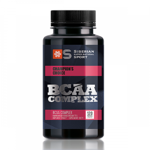 Siberian Super Natural Sport. BCAA Complex, 120 tablets 500277
