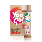 Yoo Go! Beta-glucan Drink Mix (Strawberry), 70 г