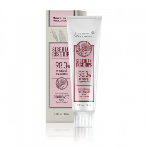 Extra Rich Botanical Toothpaste Siberian Rose Hips. Repair and Renewal, 100 ml 411377
