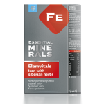 БАД ElemVitals. Iron with siberian herbs, 60 капсул