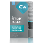БАД Elemvitals. Calcium with siberian herbs, 60 капсул